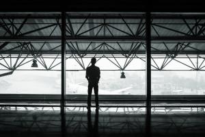 CS Successful abroad - black-and-white-flight-man-person